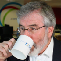 The extended interview: Gerry Adams on hugs, confession and telling the Troika to bugger off