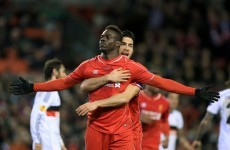 Mario Balotelli grabbed another late winner for Liverpool tonight against Besiktas