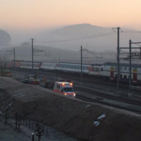 Swiss trains slam into each other during rush hour commute