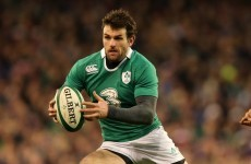 Jared Payne increasingly comfortable in Ireland's famous 13 shirt