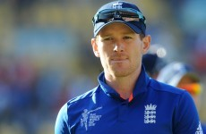 Eoin Morgan won't be playing against Ireland in Dublin as his World Cup woes continue
