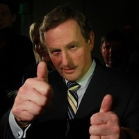 Not quite the homecoming king, but Enda is sure to get a warm reception in Mayo