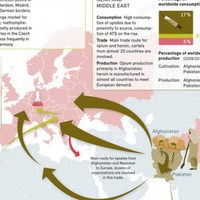 These maps show the world's hard drug trade in remarkable detail
