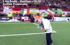 11-year-old Irish boy wins SPFL Goal of the Month competition