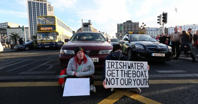 Get ready for a month of sustained water protests --- starting today in Dublin (and in Enda's home town)