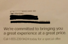 Cable company apologise for calling woman 'c**t' in cancellation notice