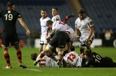 McCloskey sees red but 13-man Ulster cling on for a big win in Edinburgh