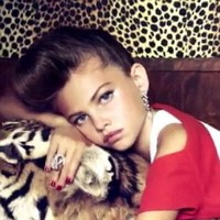 Suggestive poses by 10-year-old Vogue model spark outrage