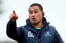 'When we try to play as individuals we are Joe Average,' says Connacht boss Pat Lam