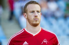 Adam Rooney's 22nd & 23rd goals of the season send Aberdeen joint-top with Celtic