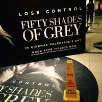 A woman was arrested for pleasuring herself during a Fifty Shades screening