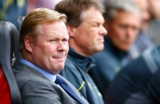 Koeman believes Saints can reach the promised land but doesn't want to talk about the C word