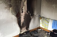 This Dublin house had a lucky escape after a phone charger went up in flames
