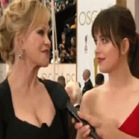 Dakota Johnson's had a row with her mam on the red carpet