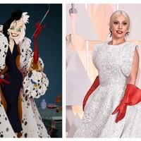 Lady Gaga's washing-up gloves became the meme of Oscars 2015