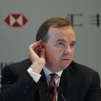 As if things weren't bad enough already - now HSBC's chief has a super secret Swiss tax account