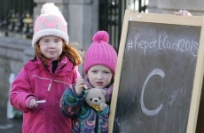 The number of children living in poverty could fill Mayo