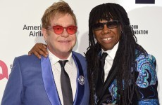Nile Rodgers wore a jacket by an Irish designer to Elton's Oscars after party