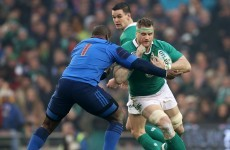 Heaslip remains with Ireland squad as preparations for England intensify