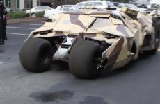 Watch: The Batmobile is back... and it's a different colour