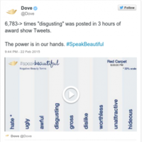 Dove's new Twitter campaign encouraging women to 'speak beautiful' has backfired