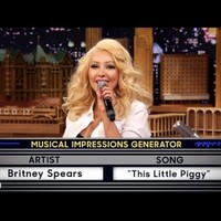 Christina Aguilera's impression of Britney Spears is scarily dead on