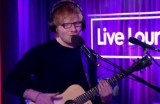 Ed Sheeran covered Christina Aguilera's Dirrty and everyone lost it