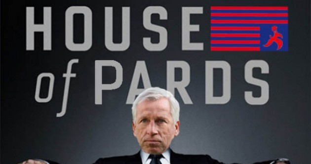 Who said it: Alan Pardew or Frank Underwood?