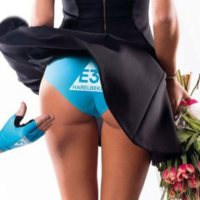 'Sexist' poster for cycling race hits bum note