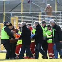 GAA ref in stable condition after collapsing during match