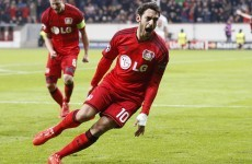 Leverkusen see off Atletico thanks to a sublime Hakan Calhanoglu goal