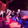 Madonna absolutely snotted herself at the Brits last night