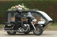 Ireland just got its first Harley Davidson hearse