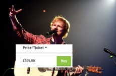Ed Sheeran Croke Park tickets are now on sale for up to €800