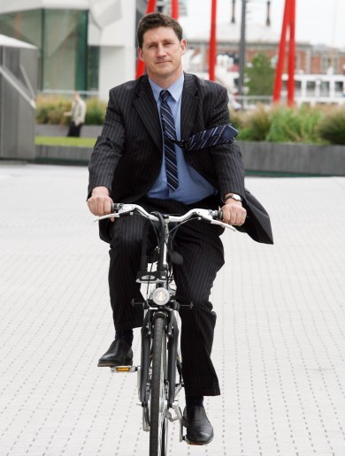 Eamon Ryan's beloved bike has been stolen