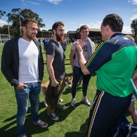 Carlton's Irish trio set to play together in Aussie Rules game for the first time tomorrow