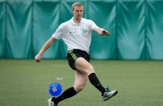 Henry Shefflin is the finest hurler of his generation, but can he kick it? Not quite...