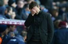 One game, one goal, that's a good ratio, says Villa boss Sherwood