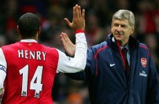 Thierry Henry says yes, he would take over from Arsene Wenger if Arsenal asked