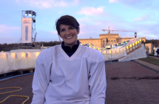 How did she get on? One of our journalists took on the Crashed Ice Belfast track