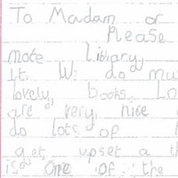 This 7-year-old's letter calling for her local library in Sligo to be kept open will melt your cold, cold heart