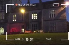 UCC student takes inspiration from horror film in eerie campaign video