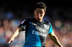 Is Samir Nasri on his way to Manchester City?
