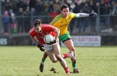 Michael Murphy sent-off but Donegal inflict first league defeat on Cork