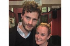 Attention, everyone: Jamie Dornan went for a pint in Co Laois last night