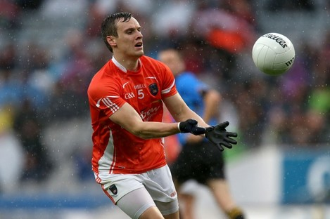 Mark Shields found the net for Armagh in Limerick.