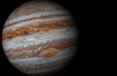 Look out the window: You'll be able to see Jupiter next to the full moon