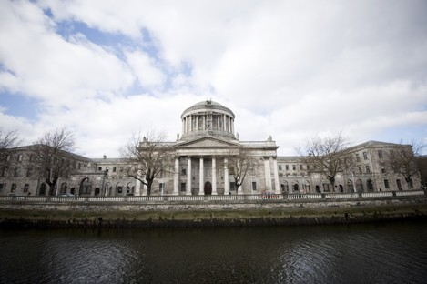 The Supreme Court's usual home, the Four Courts.