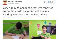 Teenager's smartarse supermarket job tweet goes super viral