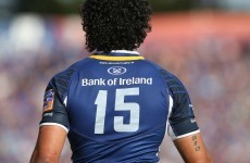 Are Leinster going to bring back Isa Nacewa? Leo Cullen didn't rule it out
